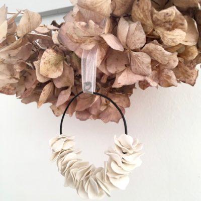 Couronne de fleurs Dai ceramic