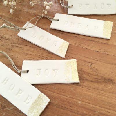 Etiquettes en porcelaine Dai Ceramic